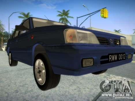 Daewoo-FSO Polonez Atu Plus 1.6 pour GTA San Andreas laissé vue