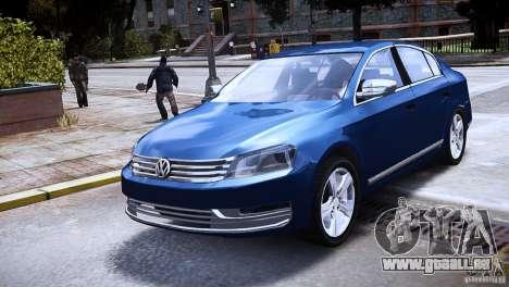 VW Passat B7 TDI Blue Motion pour GTA 4