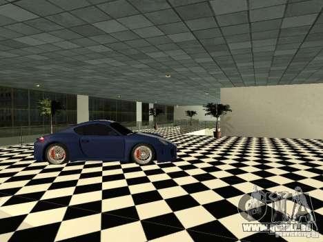 Salon de l'automobile Porsche pour GTA San Andreas quatrième écran
