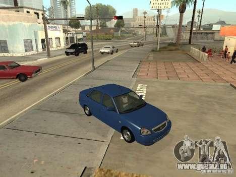 LADA 2170 Drain für GTA San Andreas Rückansicht