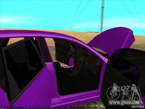 Mazda Speed 3 Stance pour GTA San Andreas vue de côté