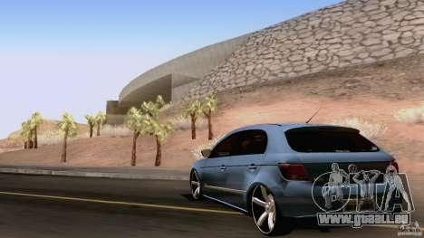 Volkswagen Golf G5 pour GTA San Andreas vue de droite