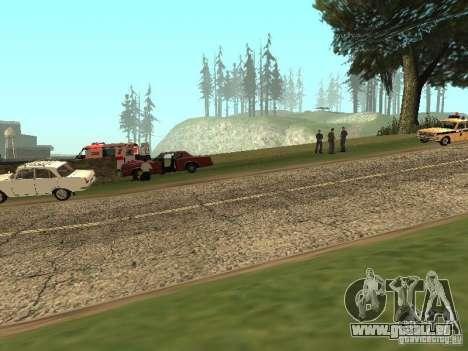 Un horrible accident pour GTA San Andreas deuxième écran