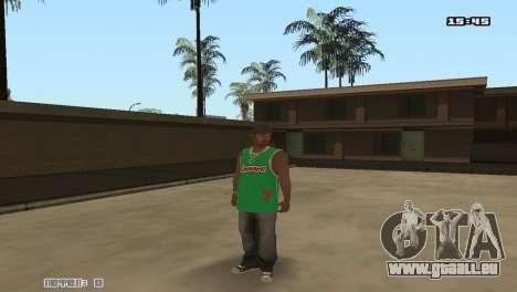 Skin Pack Groove Street pour GTA San Andreas sixième écran