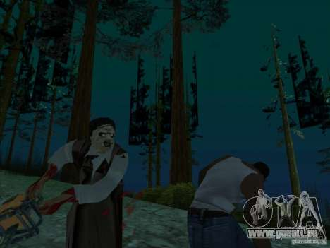 Leatherface für GTA San Andreas