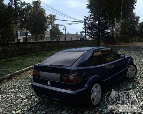 Volkswagen Corrado VR6 pour GTA 4 est une gauche