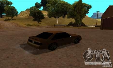 Ford Mustang SVT Cobra 1993 für GTA San Andreas linke Ansicht