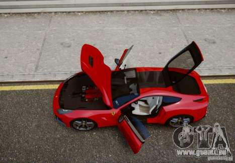 Ferrari F12 Berlinetta 2013 für GTA 4 hinten links Ansicht