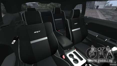 Dodge Challenger SRT8 392 2012 [EPM] pour GTA 4 est une vue de l'intérieur