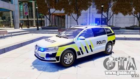 Volkswagen Passat B7 Variant 2012 pour GTA 4