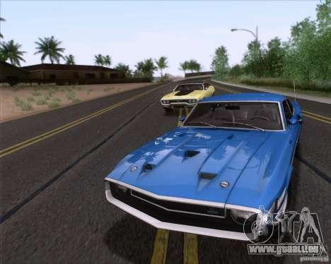 Shelby GT500 428 Cobra Jet 1969 pour GTA San Andreas moteur