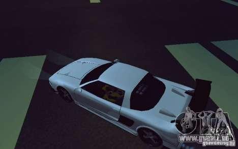 Infernus Tuning für GTA San Andreas zurück linke Ansicht