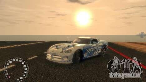 Dodge Viper SRT-10 Mopar Drift für GTA 4