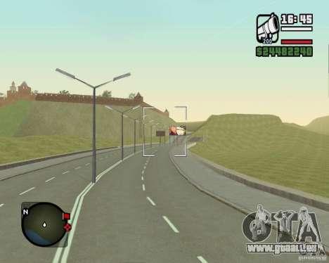 Gosport Straße-Nižegorodsk für GTA San Andreas fünften Screenshot