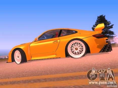 Porsche 911 Turbo Tuning pour GTA San Andreas laissé vue