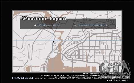GTA V map pour GTA San Andreas quatrième écran