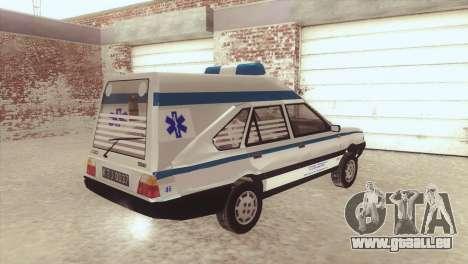FSO Polonez Cargo MR94 Ambulance für GTA San Andreas linke Ansicht