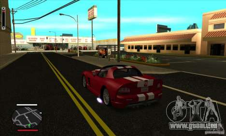 HUD for SAMP für GTA San Andreas zweiten Screenshot