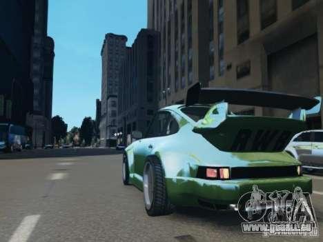 Porsche 911 Turbo RWB Pandora One Beta pour GTA 4 Vue arrière de la gauche