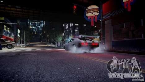 Dukes City-Drag für GTA 4 Innenansicht