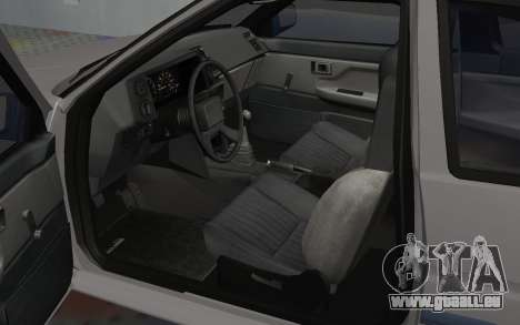 Toyota Corolla GT-S Tunable für GTA San Andreas Rückansicht