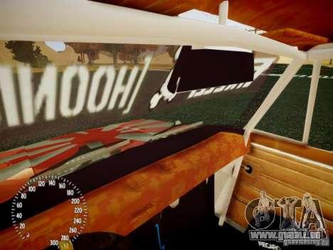 Vaz-2101 Drift Edition pour GTA 4 vue de dessus