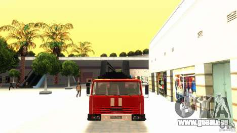 KAMAZ 53229 pour GTA San Andreas laissé vue