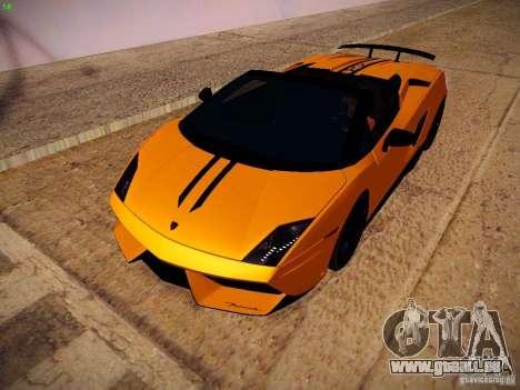 Lamborghini Gallardo LP570-4 Spyder Performante für GTA San Andreas linke Ansicht