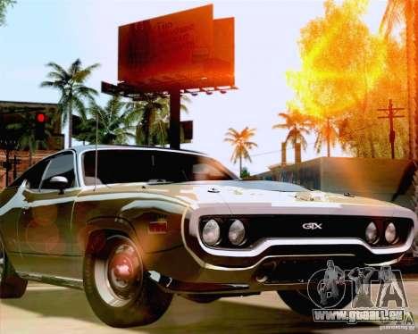 Lensflare Settings pour GTA San Andreas