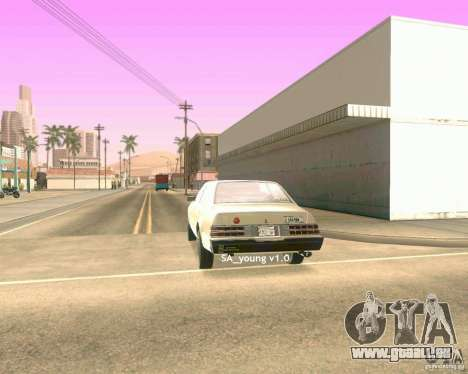 Young ENBSeries für GTA San Andreas her Screenshot