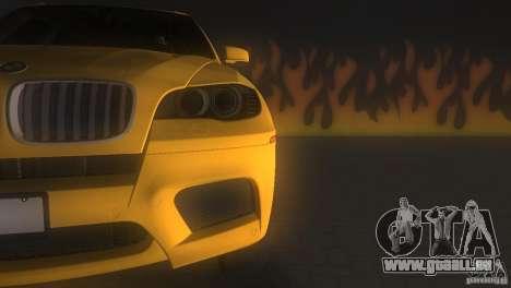BMW X5 pour une vue GTA Vice City de l'intérieur