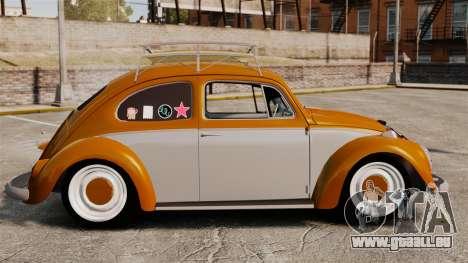 Volkswagen Fusca Edit für GTA 4 linke Ansicht