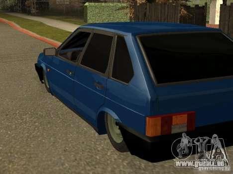 VAZ 2109 für GTA San Andreas Innenansicht