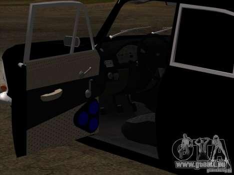 Moskvitch 408 Style supplémentaire pour GTA San Andreas vue de dessus