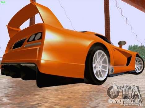 Dodge Viper GTS-R Concept für GTA San Andreas zurück linke Ansicht