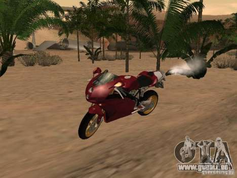 Ducati 999R für GTA San Andreas Seitenansicht