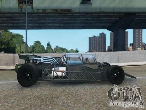Villain The Fast and the Furious 6 für GTA 4 linke Ansicht