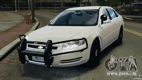 Chevrolet Impala Unmarked Detective [ELS] pour GTA 4