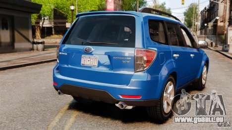 Subaru Forester 2008 XT für GTA 4 hinten links Ansicht
