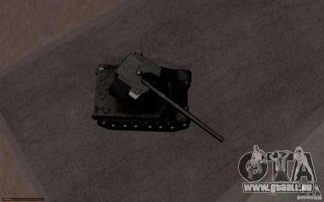 Bat. Chat. 155 SPG pour GTA San Andreas vue intérieure