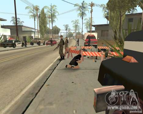 Scène du crime (scène de Crime) pour GTA San Andreas septième écran