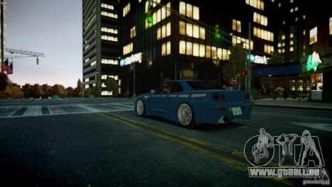Nissan BNR-34 GT-R für GTA 4 rechte Ansicht