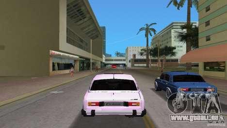 VAZ 2106 pour GTA Vice City sur la vue arrière gauche