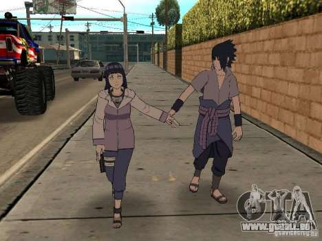 Skin Pack From Naruto pour GTA San Andreas cinquième écran