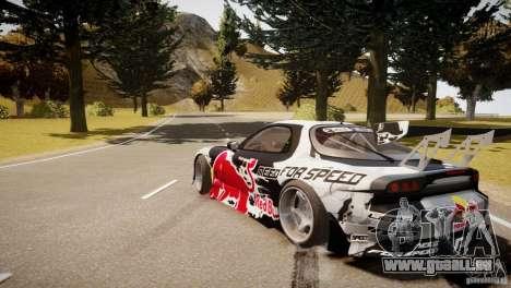 MAZDA RX-7 Mad Mike 2 pour GTA 4 Vue arrière de la gauche