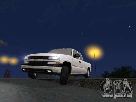 Chevorlet Silverado 2000 für GTA San Andreas Innen