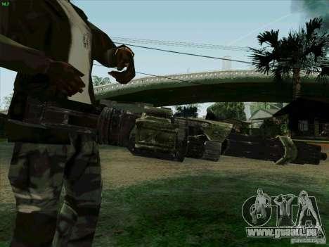 Minigun de Duke Nukem Forever pour GTA San Andreas troisième écran
