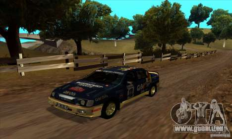 Ford Sierra RS500 Cosworth RallySport pour GTA San Andreas