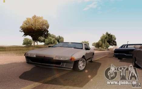 Elegy HD pour GTA San Andreas vue de droite