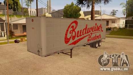 Ganzmetall-trailer für GTA San Andreas